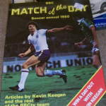 match of the day SOCCER ANNUAL 1980 bbc nice unclipped condition Kevin Keegan